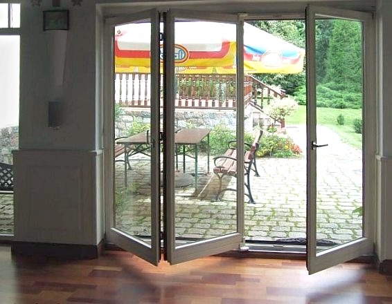 Drzwi balkonowe harmonijka