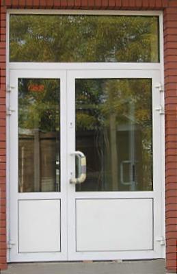 Stolarka aluminiowa, drzwi